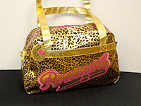 Gold leopard print Pineapple dance bags, the most popular dance bag this year!