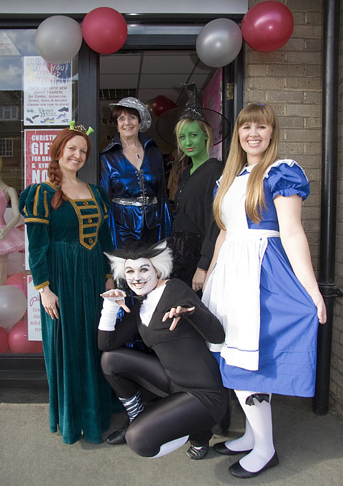 Fancy Dress Day at Dancers Boutique.