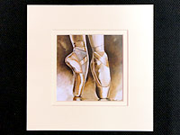 We have 8 different ballet pictures by this artist and they are just beautiful. Looking for a present for a dancer? These prints make the perfect dance gift.