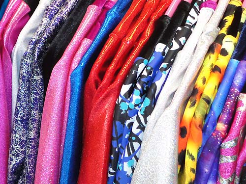 Lot of colours and styles of freestyle leotards.! Call 01494 727211.
