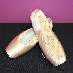 Grishko pointe shoes.
