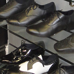 Mens ballroom shoes, boys character shoes.