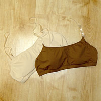 Dance bra and under garments for dance students.